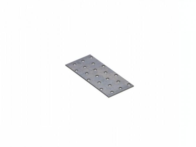 Плоска метална планка с перфорация (тип шина) PP 5 - 140 x 60 мм