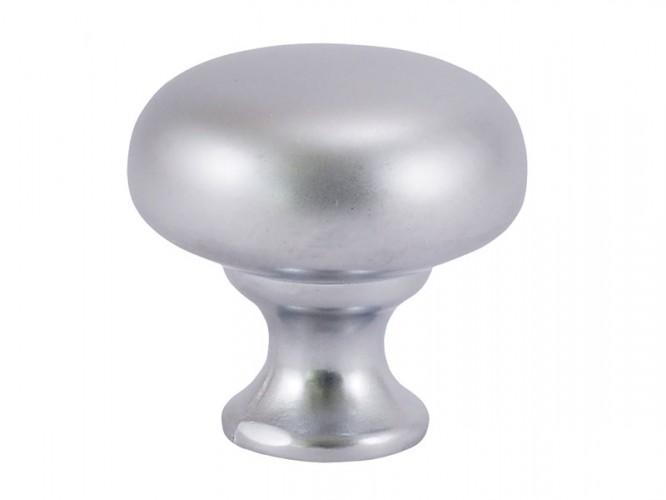 Дръжка за мебели G024 - С един винт, Хром мат