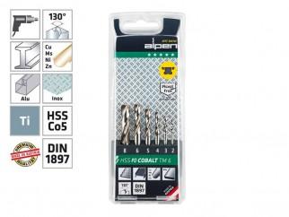 Alpen HSS Cobalt TM PZ 6 Drill Bits Set