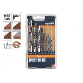 Alpen Holz TM 8 Wood Drill Bits Set