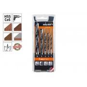 Комплект свредла (бургии) за дърво Alpen Holz TM 5