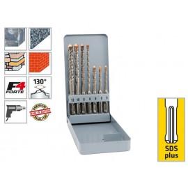Комплект свредла (бургия) за бетон и гранит Alpen SDS-plus F4 Forte KM 7