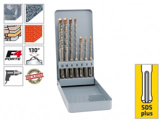 Alpen KM 7 SDS-plus F4 Forte Hammer Drill Bits Set