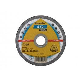 Диск за рязане на стомана Klingspor Kronenflex A 60 Extra - 125 x 1.0 x 22.23 мм