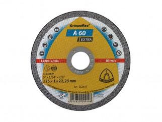 Klingspor Kronenflex A 60 Extra Cutting Disc - 125 x 1.0 x 22.23 mm