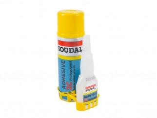 Soudal 2C Professional Fast Adhesive Set Actıvator & Glue - 50 g + 200 ml
