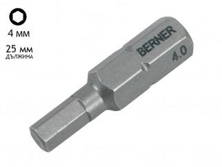 Berner SW Premium Hex Bit - 4 mm