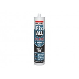 Soudal Fix All Flexi Sealant & Adhesive - White