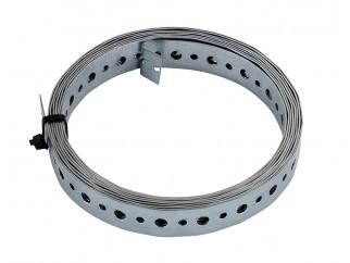 Монтажна лента с перфорация за свързване на детайли, DMX TM 5 - 20 х 0.9 мм, 3 метра