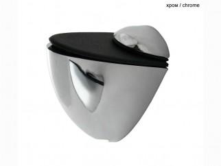 Pelican Small Shelf Support - chrome