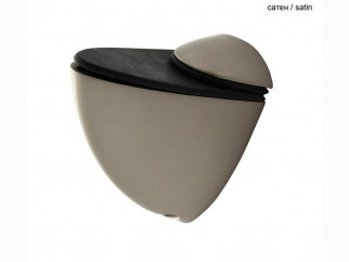 Pelican Small Shelf Support - satin