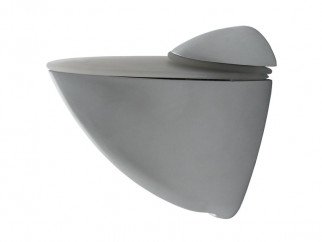 KAMA Pelican Shelf Support - Large, Matt Chrome