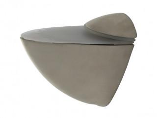 KAMA Pelican Shelf Support - Large, Matt Nickel