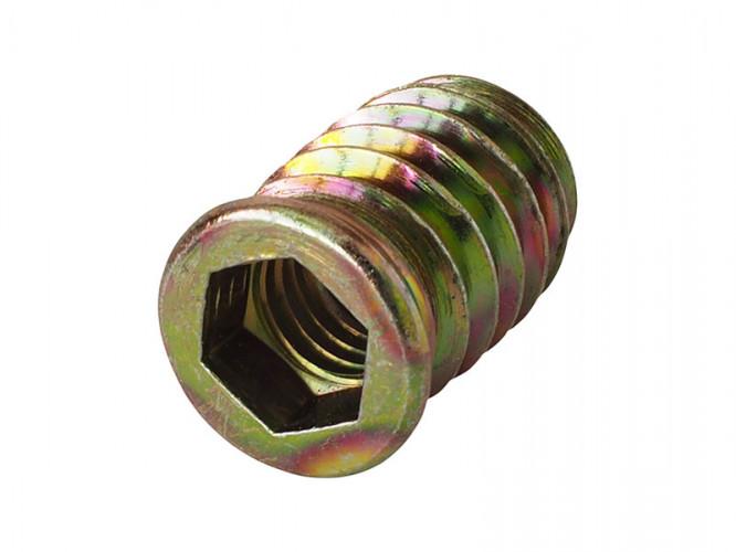 Винтова гайка за дърво от стомана KAMA - M8 x 20 мм