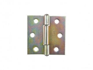 Metal Pivot Furniture Hinge - 35 х 35 mm, Scheme