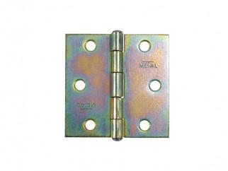 Metal Pivot Furniture Hinge - 40 х 50 mm
