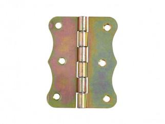 ZO Decorative Pivot Furniture Hinge - 80 x 63 mm