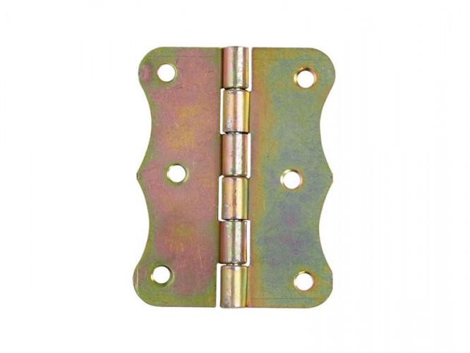 Декоративна шарнирна панта за мебели и кутии ZO - 80 x 63 мм