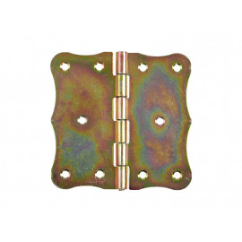 Декоративна шарнирна панта за мебели и кутии DMX ZO - 100 х 105 мм