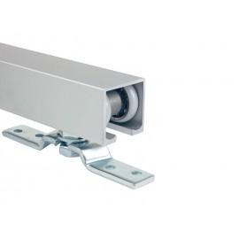 Релса за система за плъзгащи врати с горно носене и долно водене A-1 - 2.5 метра