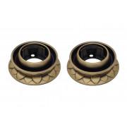 Чифт конзоли за старинен кръгъл лост за гардероб KAMA
