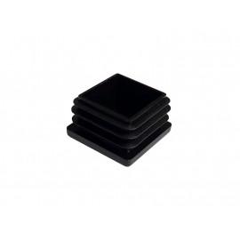Тапа за квадратна тръба или профил - 30 х 30 мм, Черен