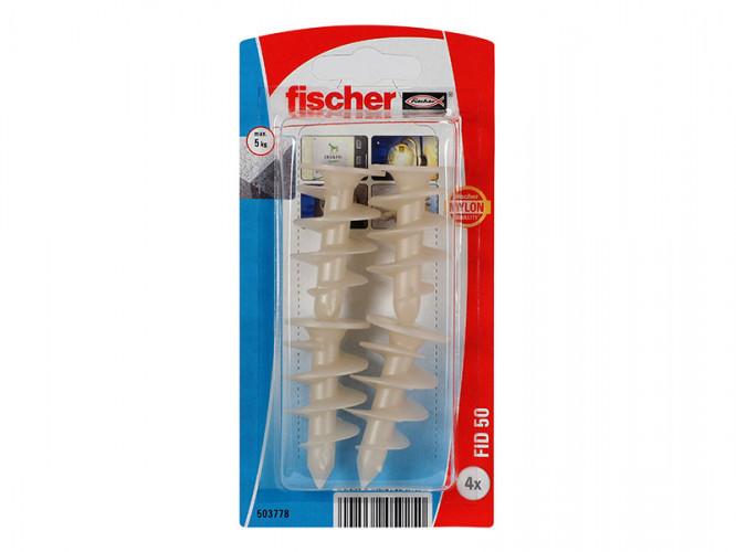 Комплект дюбели за изолация Fischer FID 50 - 4 бр.