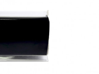 PVC Convex Skirting - Mini, Black, 4 m