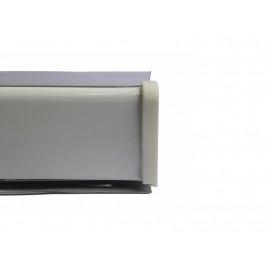 Водобранна лайстна за кухня - Мини, Бял, 4 метра