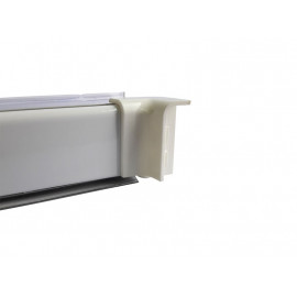 Вътрешен ъгъл за водобранна лайстна за кухня - Мини, Бял