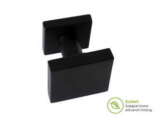 Forme Fashion Asti Interior Door Knob - Matt Black