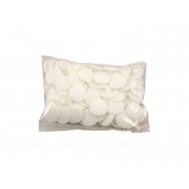 Пластмасови декоративни тапи за винтове - Бял, PZ 2/PH 2