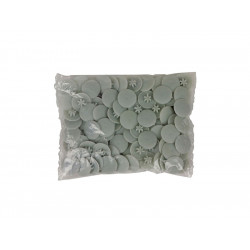 Пластмасови декоративни тапи за винтове - Светло сив, TX 30
