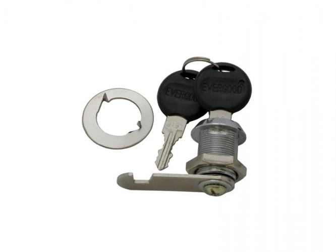 Ключалка за мебели с въртящ език KM-103 - 20 мм