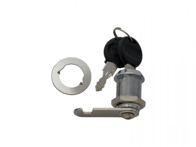 Ключалка за мебели с въртящ език KM-103 - 25 мм