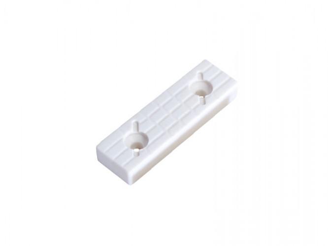 Пластмасова петичка за мебели - Бял