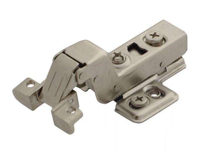 Хидравлична мебелна панта за алуминиеви вратички - открит кант
