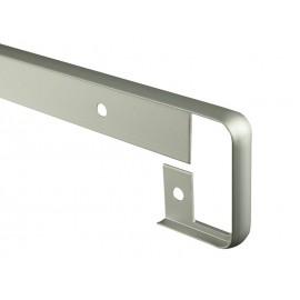 Свързваща алуминиева лайстна за кухненски плот с дебелина 38 мм