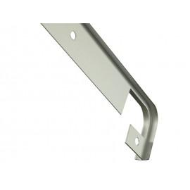 Свързваща алуминиева лайстна за кухненски плот с дебелина 28 мм