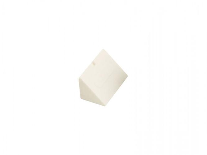 Пластмасов укрепващ ъгъл за мебели - Бял