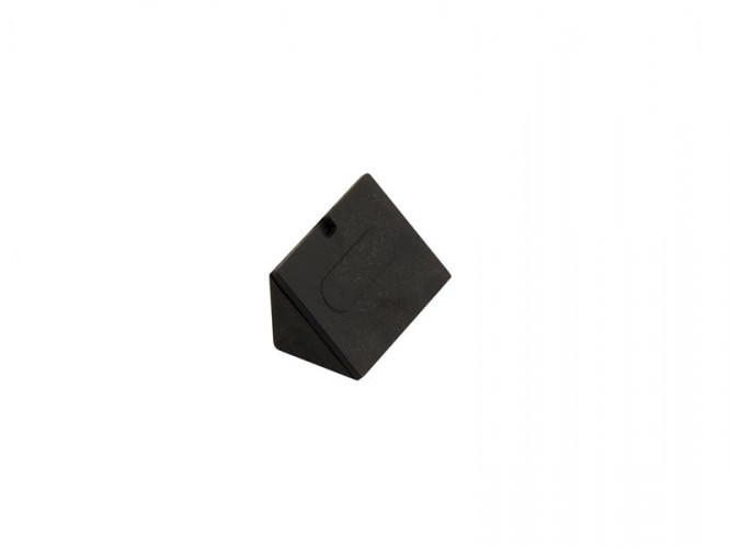 Пластмасов укрепващ ъгъл за мебели - Черен