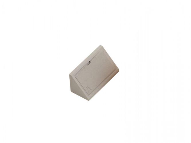 Пластмасов укрепващ ъгъл за мебели - Сив
