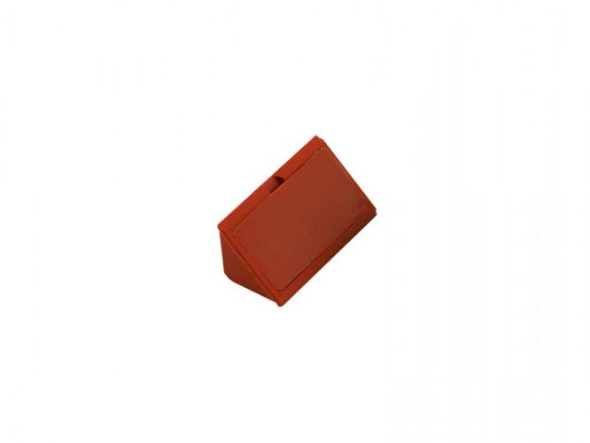 Пластмасов укрепващ ъгъл за мебели - Череша