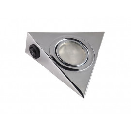 GTV Pyramidal Surface Mounted Halogen Light - Chrome