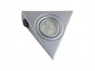 GTV Pyramidal Surface Mounted Halogen Light - Matt Chrome