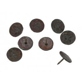 Кръгъл декоративен кабър от ковано желязо - ф33 мм