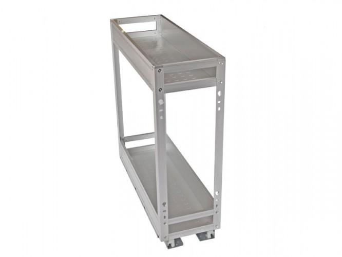 Алуминиев кош за вграждане - 200 мм