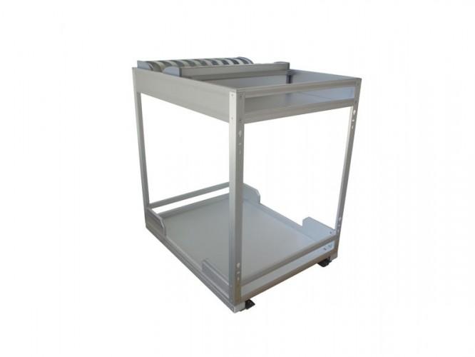 Алуминиев кош за вграждане - 400 мм