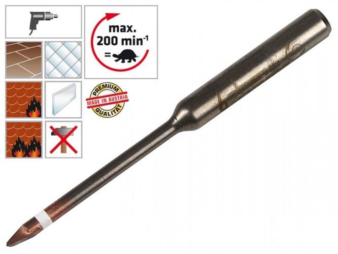 Свредло (бургия) за гранитогрес, теракот и фаянс Alpen Keramo Extreme - 6 мм