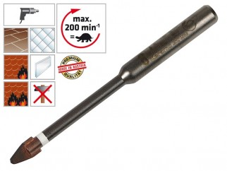 Свредло (бургия) за гранитогрес, теракот и фаянс Alpen Keramo Extreme - 8 мм
